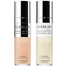 Buy Guerlain Blanc de Perle White P.E.A.R.L. Fusion	 Whitening Day & Night Treatment Online at johnlewis.com