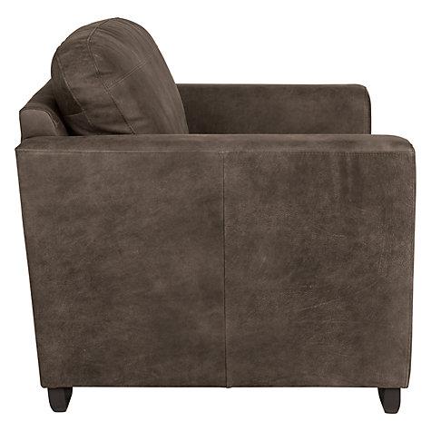 Buy John Lewis Cooper Leather Armchair With Dark Legs John Lewis