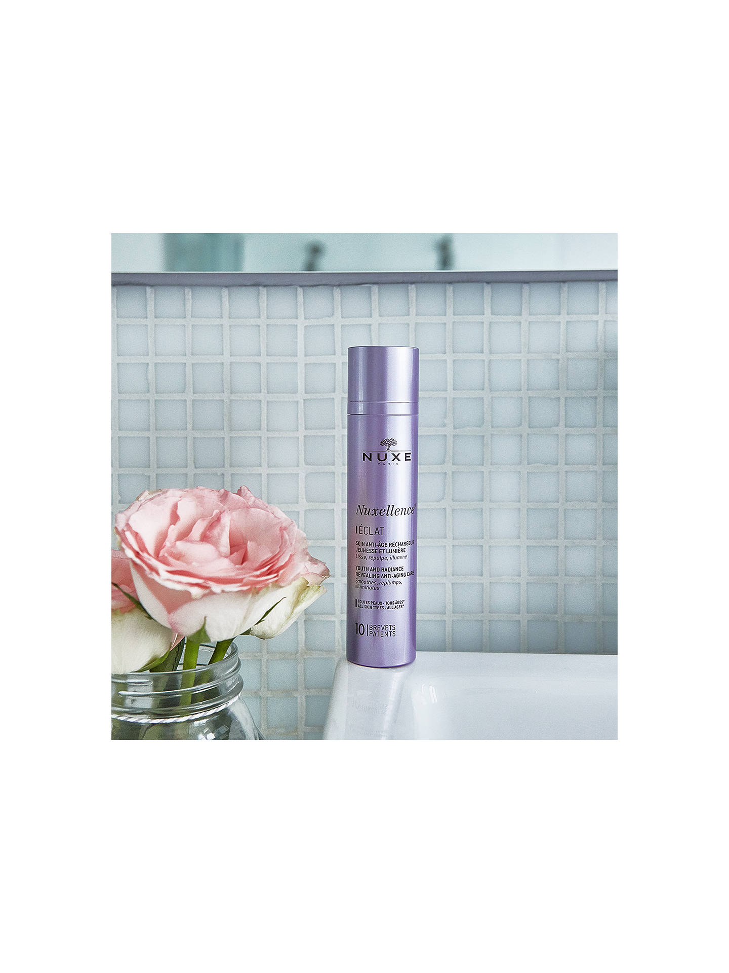 BuyNUXE Nuxellence® Eclat Anti-Ageing and Radiance Revealing Day Care, 50ml Online at johnlewis.com