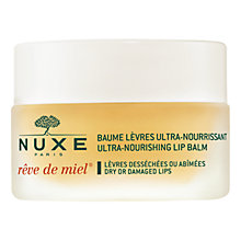 Buy NUXE Rêve de Miel® Ultra-Nourishing Lip Balm, 15ml Online at johnlewis.com