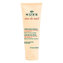 Buy NUXE Rêve de Miel® Nourishing Hand and Nail Cream, 75ml Online at johnlewis.com