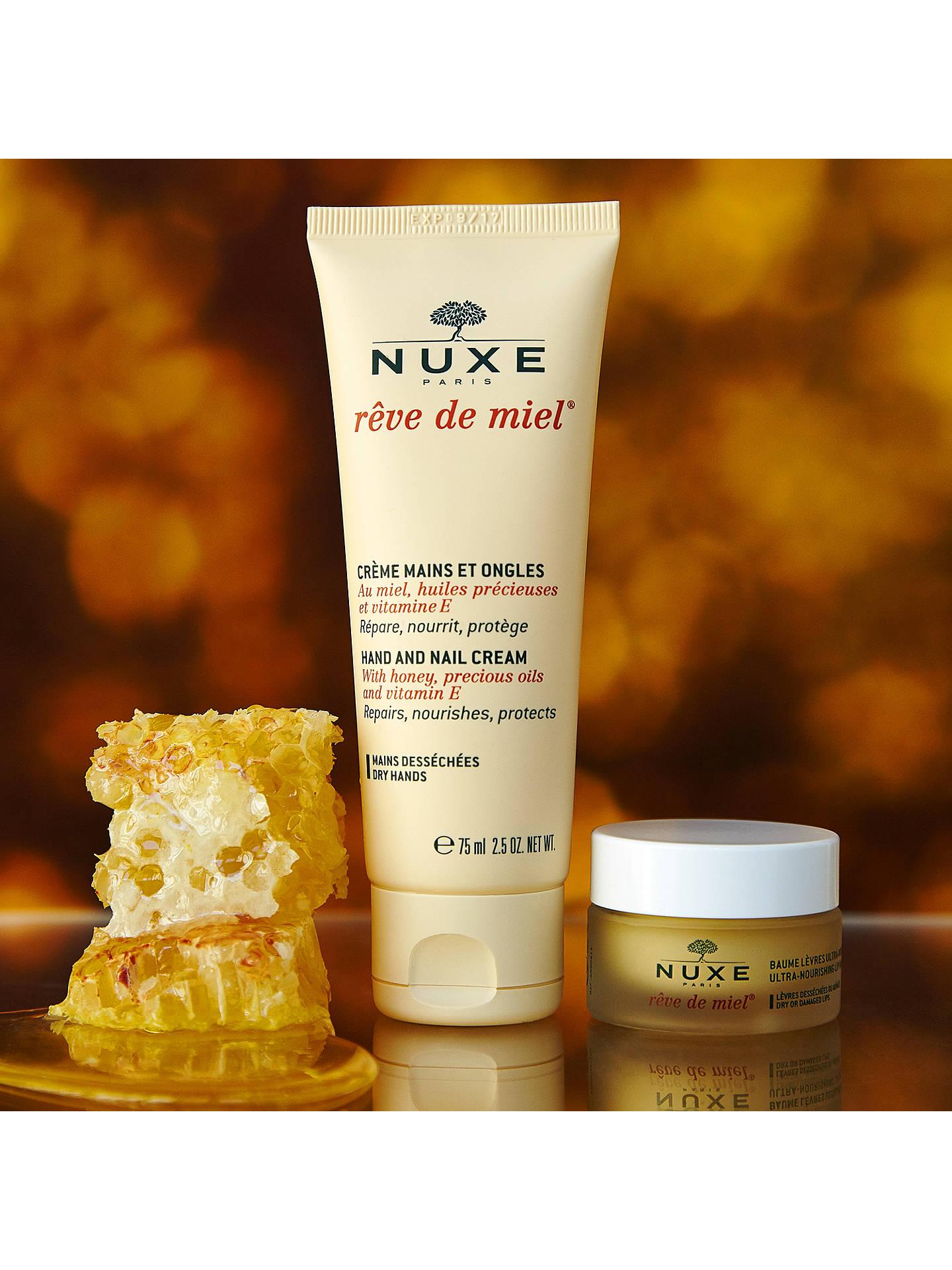 NUXE Rêve de Miel® Nourishing Hand and Nail Cream, 75ml