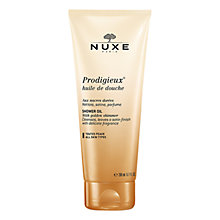 Buy NUXE Prodigieux® Shower Oil with Golden Shimmer, 200ml Online at johnlewis.com
