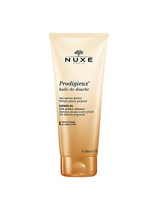 NUXE Prodigieux® Shower Oil with Golden Shimmer, 200ml