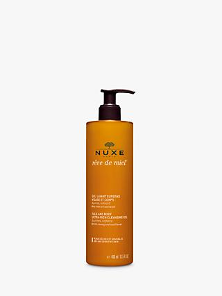 NUXE Rêve de Miel® Face and Body Ultra-Rich Cleansing Gel, 400ml