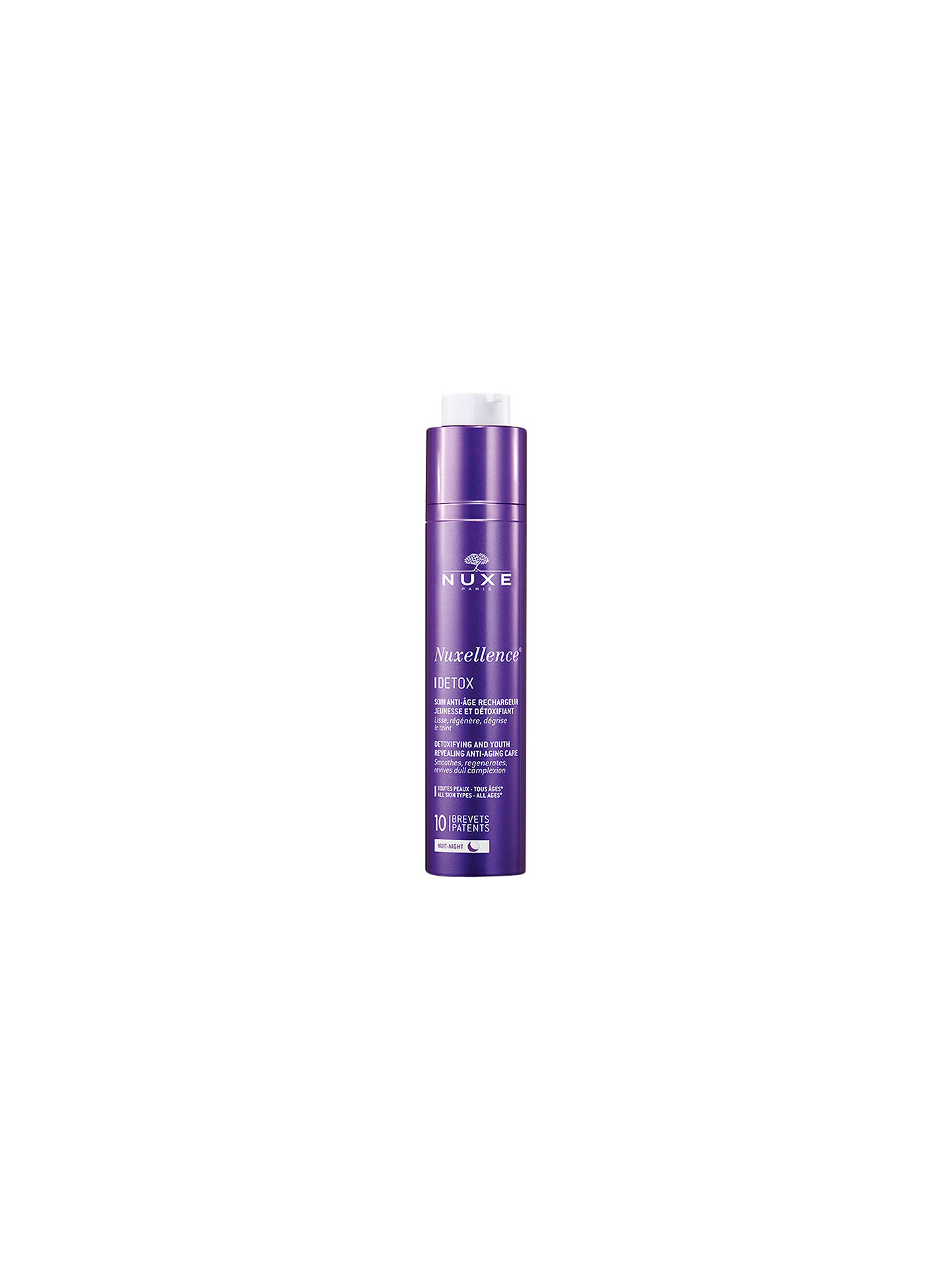 BuyNUXE Nuxellence® Detox Detoxifying and Anti-Ageing Night Care, 50ml Online at johnlewis.com