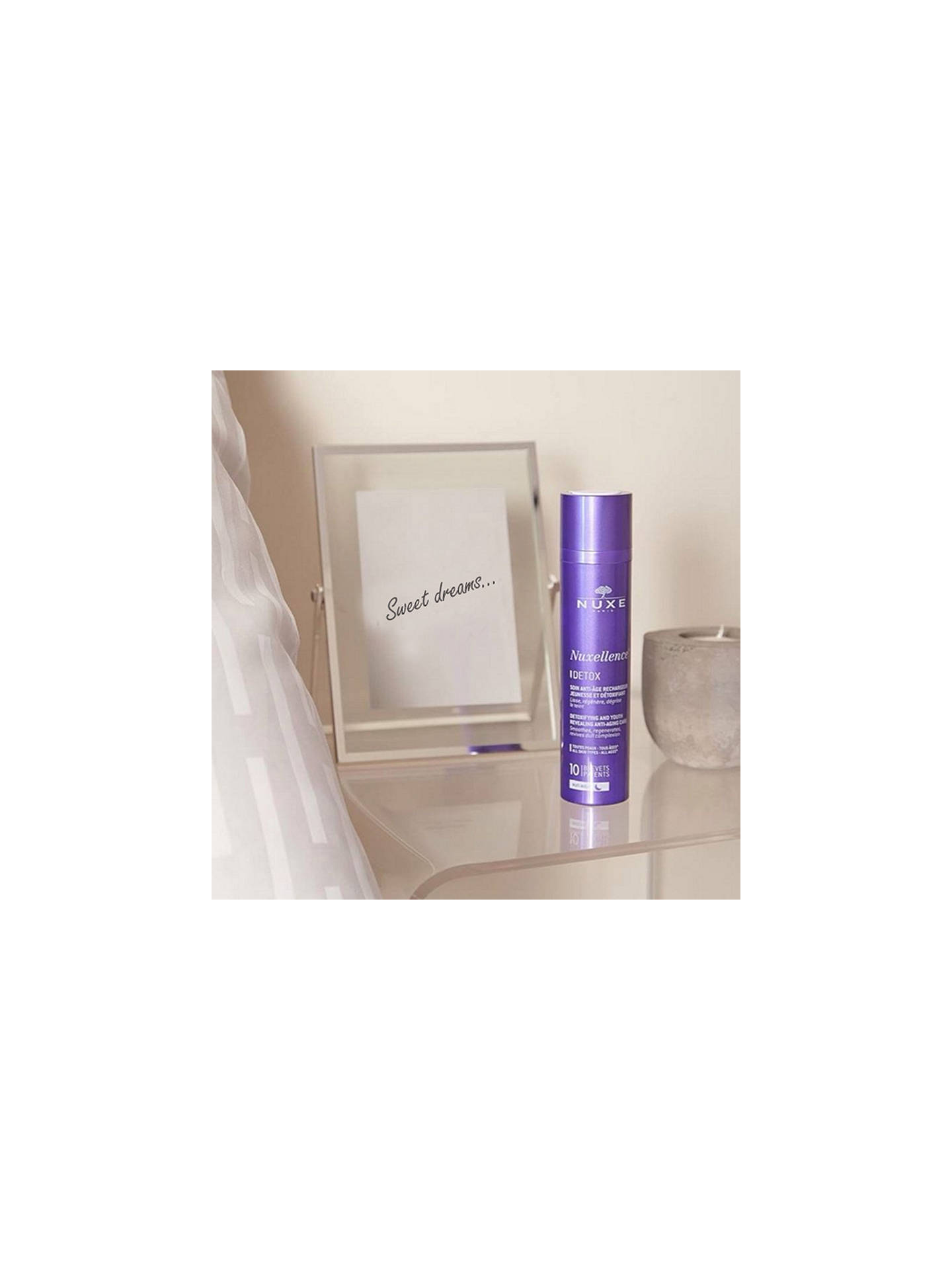 Buy NUXE Nuxellence® Detox Detoxifying and Anti-Ageing Night Care, 50ml Online at johnlewis.com