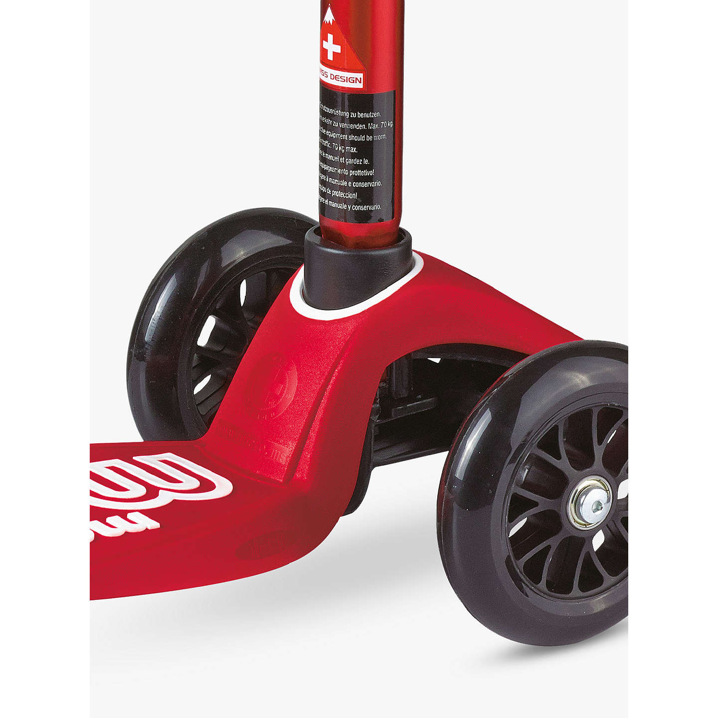 BuyMaxi Micro Deluxe Scooter, 5-12 years, Red Online at johnlewis.com