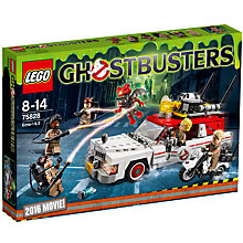 Buy LEGO Ghostbusters 75828 ECTO-1 & ECTO-2 Set Online at johnlewis.com