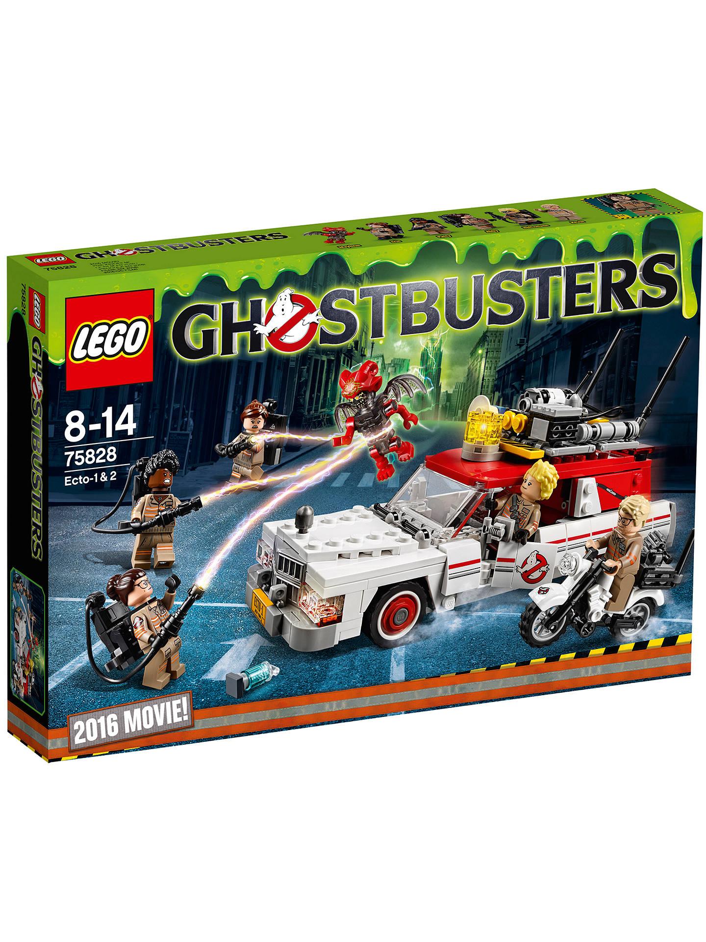 LEGO Ghostbusters 75828 ECTO-1 & ECTO-2 Set at John Lewis ...