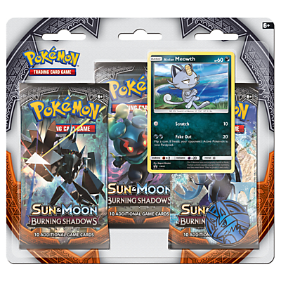 Image of Pokémon Triple Booster Pack Trading Cards, Assorted