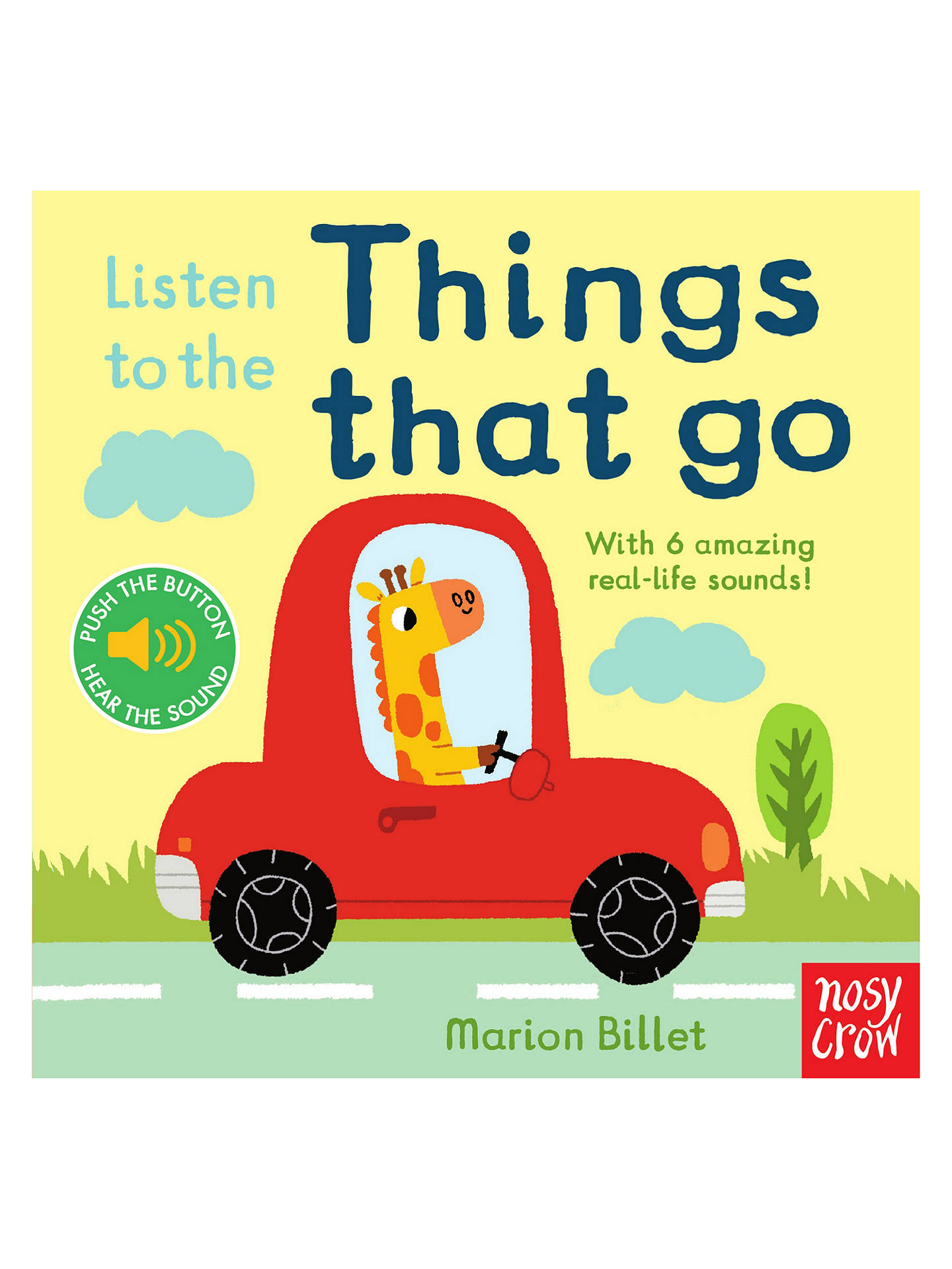 BuyListen to the Things That Go Children's Book Online at johnlewis.com