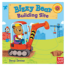 Buy Bizzy Bear Building Site Children's Book Online at johnlewis.com