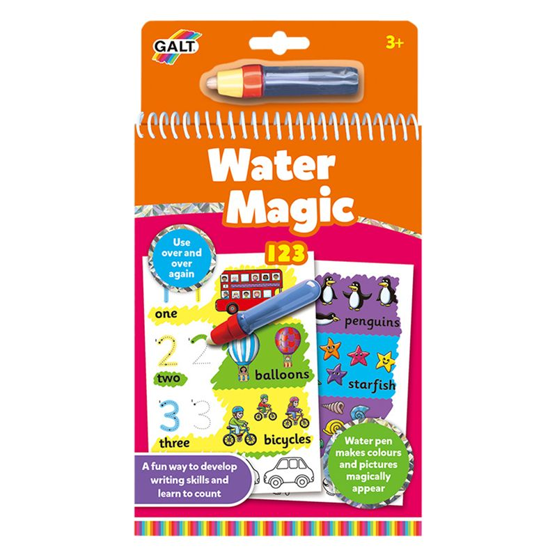 Galt Galt Water Magic Counting Activity Book