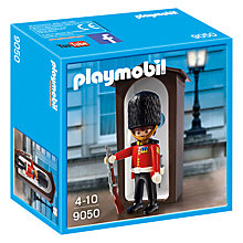 Buy Playmobil Royal Guard & Sentry Box Online at johnlewis.com
