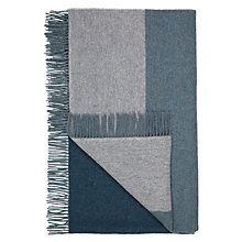 Buy Design Project by John Lewis No.021 Throw, Evergreen / Grey Online at johnlewis.com