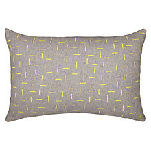 Buy House by John Lewis Fragment Cushion, Dandelion Online at johnlewis.com