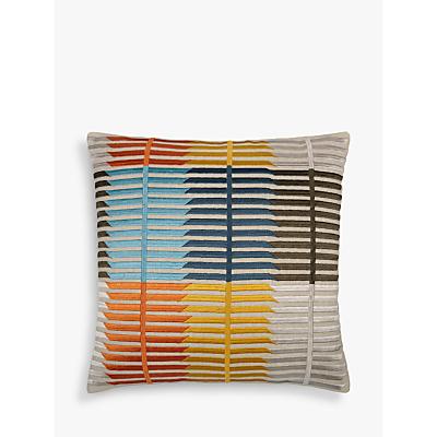 John Lewis Bandara Stripe Cushion, Multi
