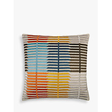 Buy John Lewis Bandara Stripe Cushion, Multi Online at johnlewis.com