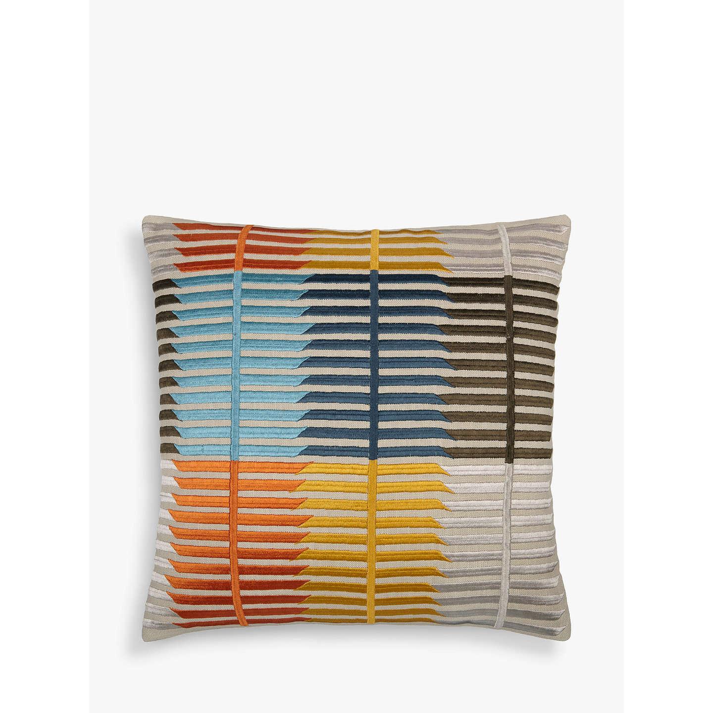 john lewis bandara stripe cushion multi at john lewis. Black Bedroom Furniture Sets. Home Design Ideas