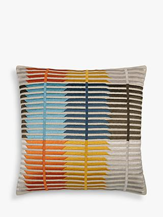 John Lewis & Partners Bandara Stripe Cushion, Multi