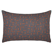 Buy House by John Lewis Fragment Cushion, Chilli Online at johnlewis.com