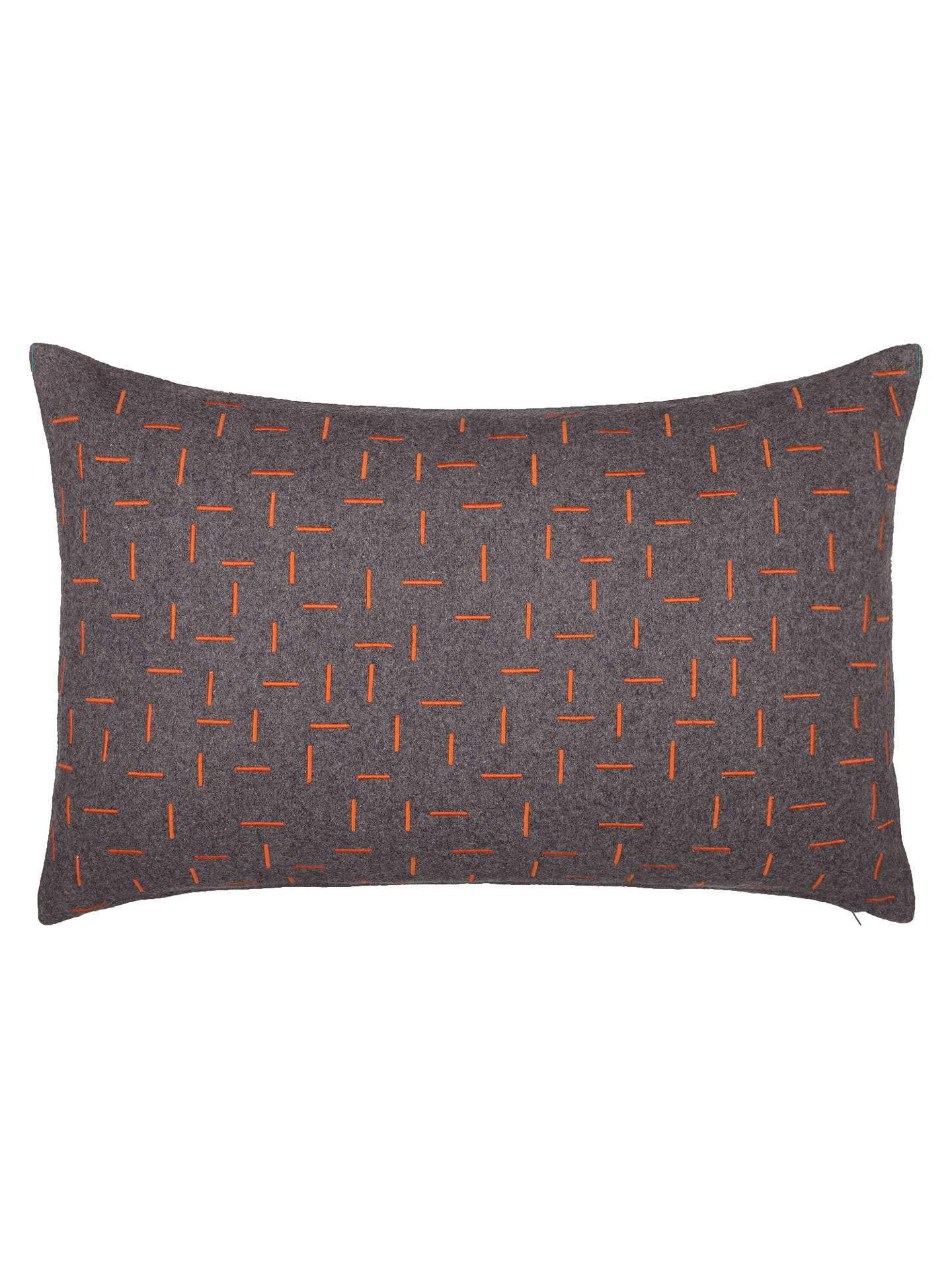 BuyHouse by John Lewis Fragment Cushion, Chilli Online at johnlewis.com