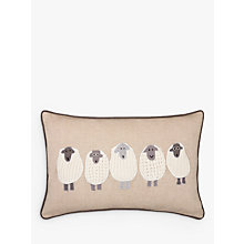 Buy John Lewis Sheep Cushion Online at johnlewis.com