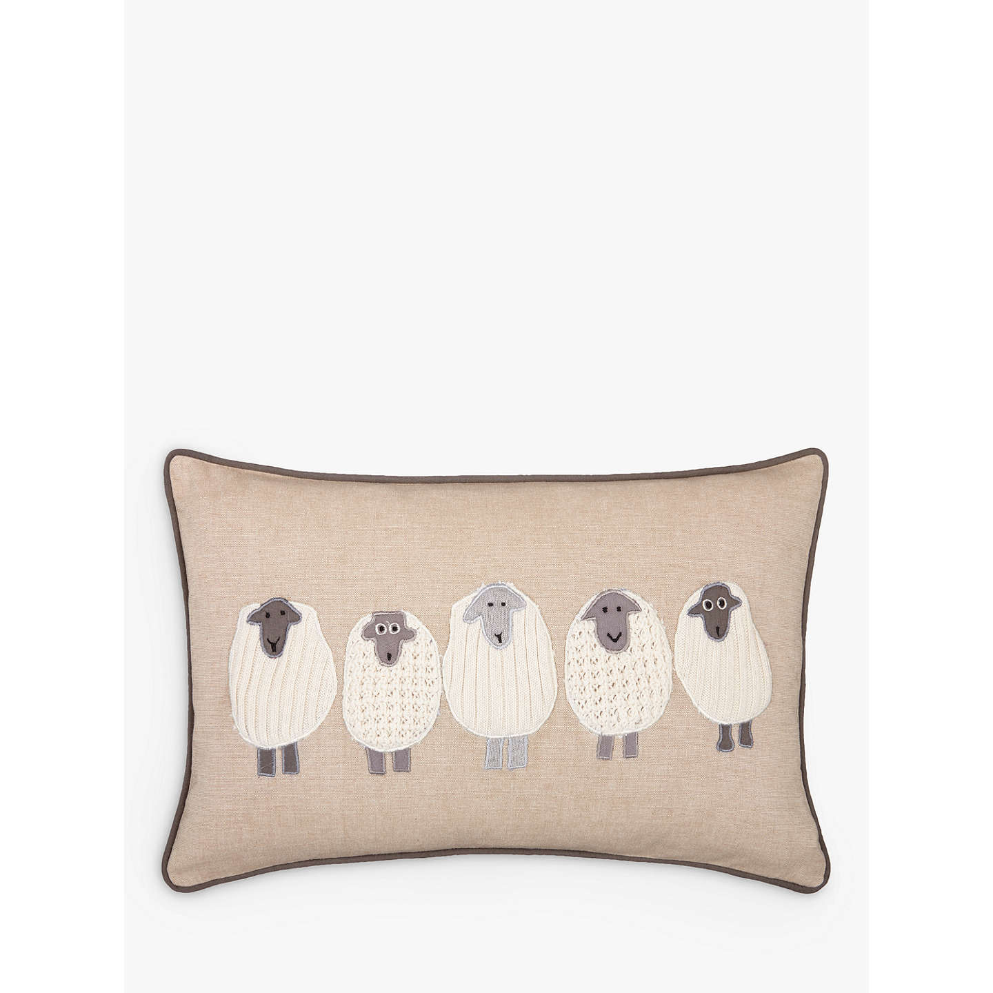 John Lewis Sheep Cushion At John Lewis