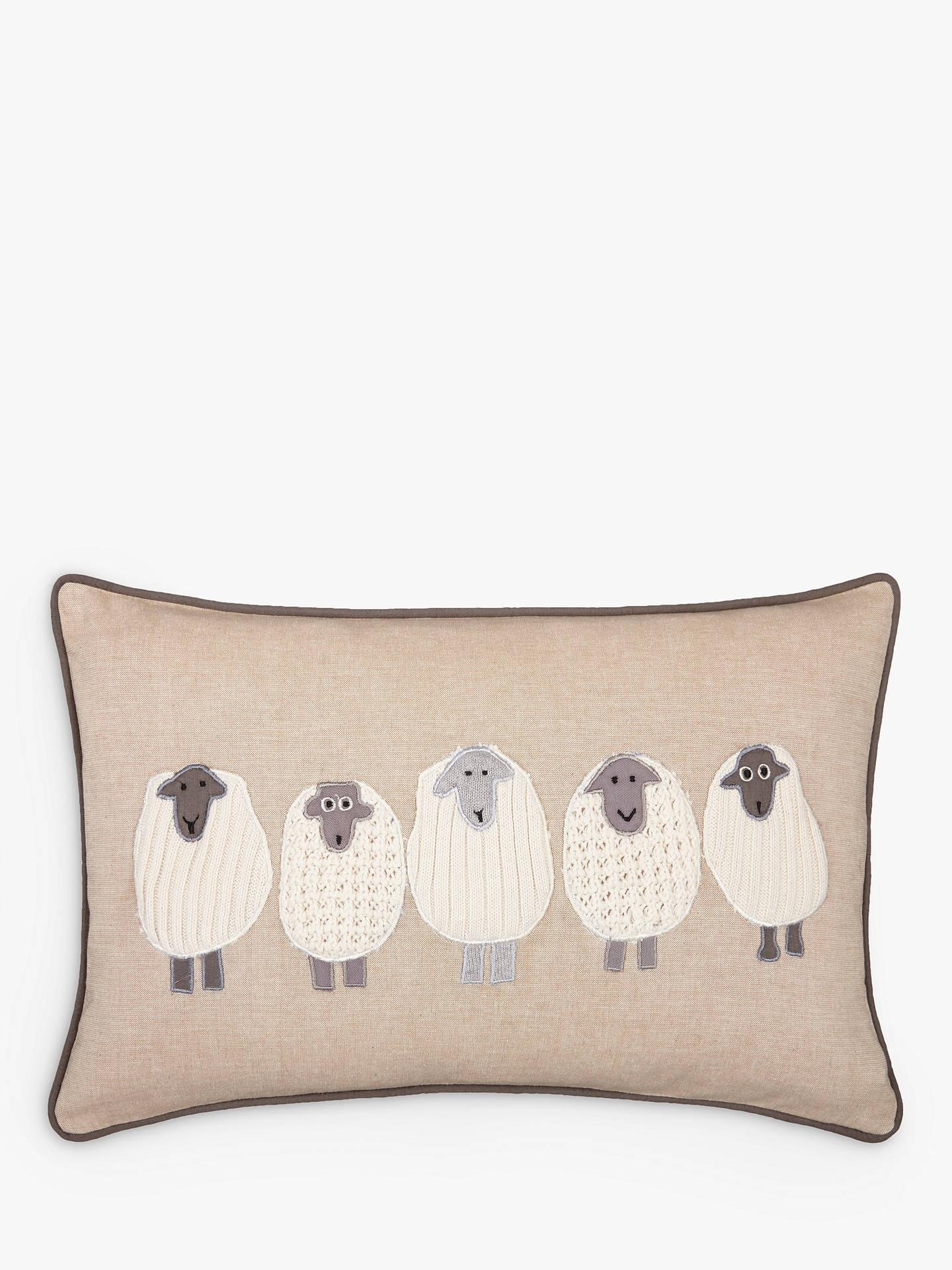 john lewis partners sheep cushion at john lewis partners. Black Bedroom Furniture Sets. Home Design Ideas