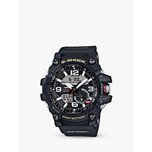 Buy Casio GG-1000-1AER Men's G-Shock Chronograph Day Resin Strap Watch, Black Online at johnlewis.com