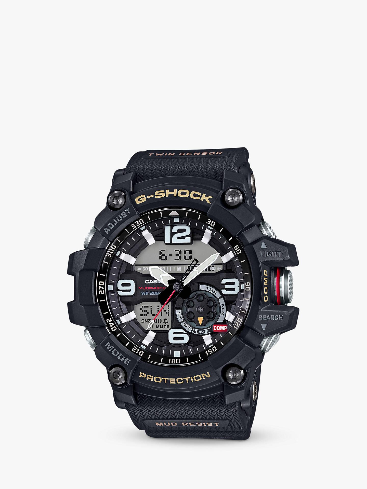 ff5d650bf Casio GG-1000-1AER Men s G-Shock Chronograph Day Resin Strap Watch ...