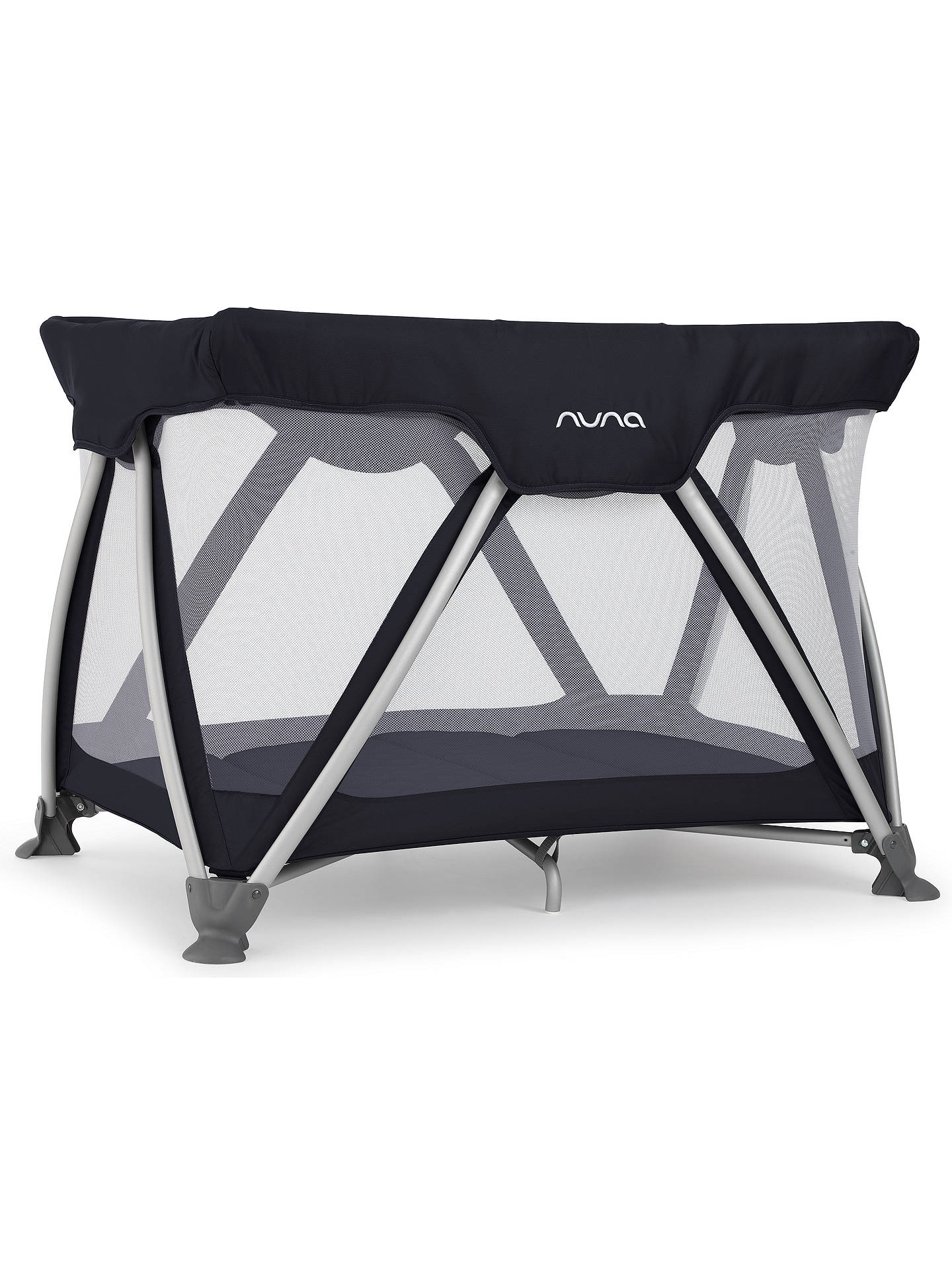 Nuna Sena Travel Cot Indigo At John Lewis Amp Partners