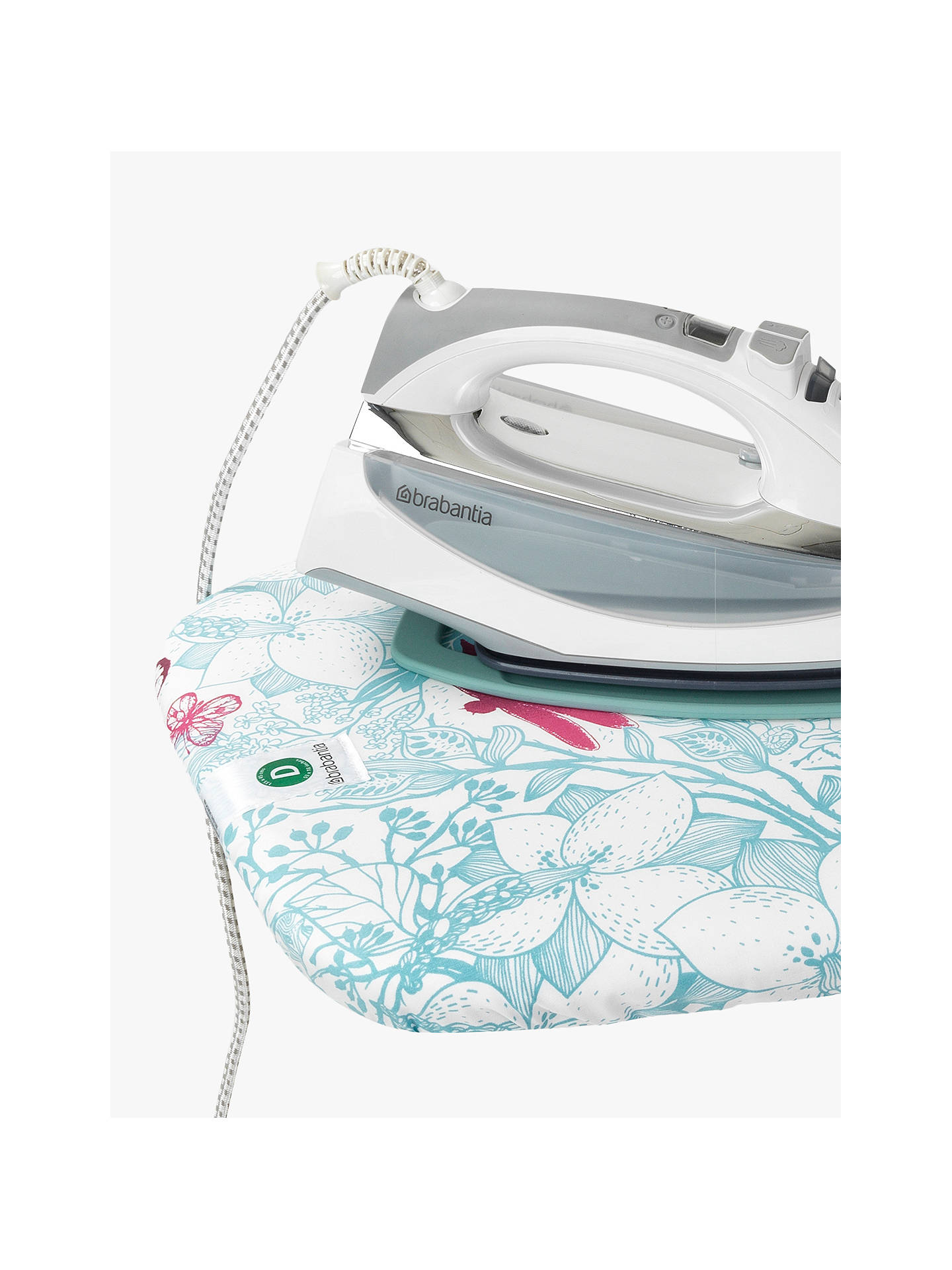 BuyBrabantia Botanical Dragonfly Ironing Board, L135 x W45cm Online at johnlewis.com