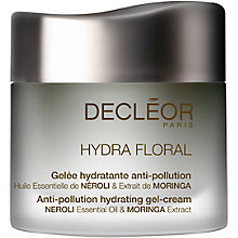 Buy Decléor Hydra Floral Anti-Pollution Hydrating Gel Cream, 50ml Online at johnlewis.com