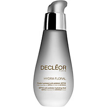 Buy Decléor Hydra Floral Anti-Pollution Hydrating Fluid, SPF30, 50ml Online at johnlewis.com