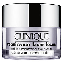 Buy Clinique Repairwear Laser Focus Wrinkle Correcting Eye Cream, 15ml Online at johnlewis.com