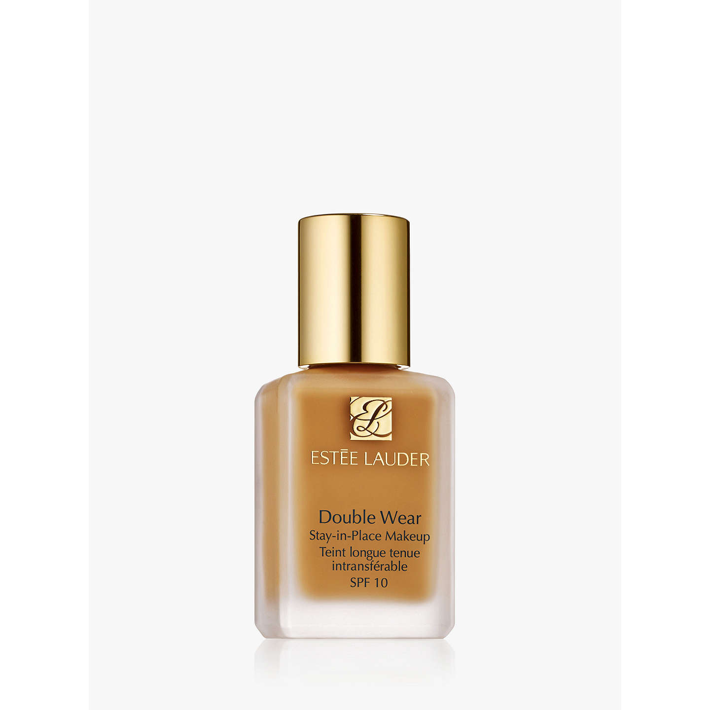 BuyEstée Lauder Double Wear Stay-In-Place Foundation Makeup SPF10, 3W0 Warm Creme Online at johnlewis.com