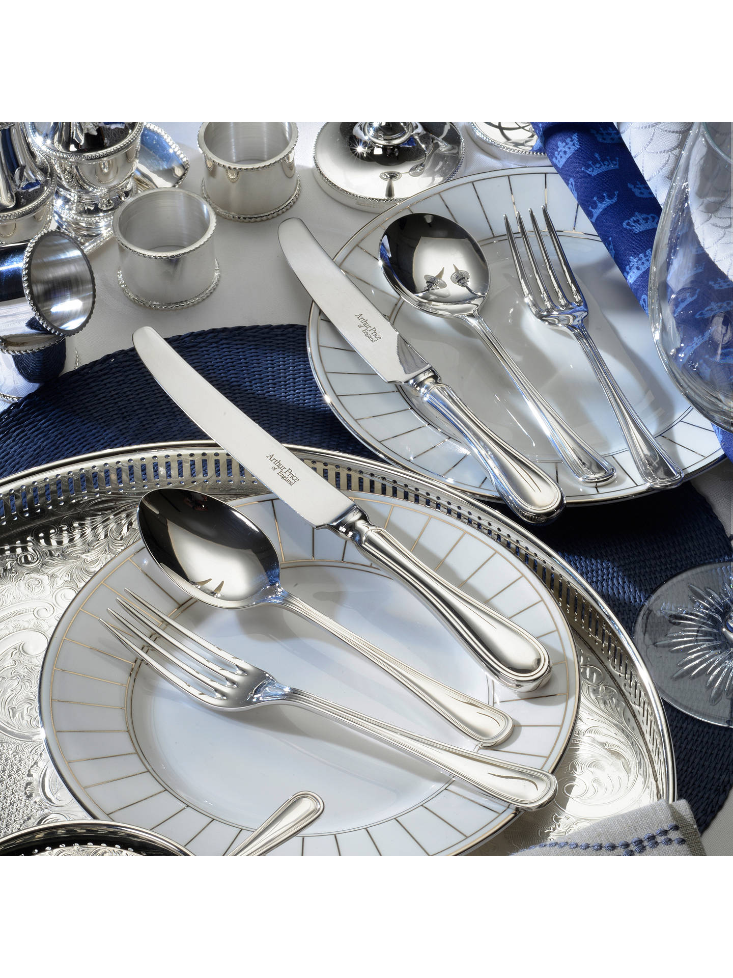 Buy Arthur Price Britannia Cutlery Set, 24 Piece Online at johnlewis.com