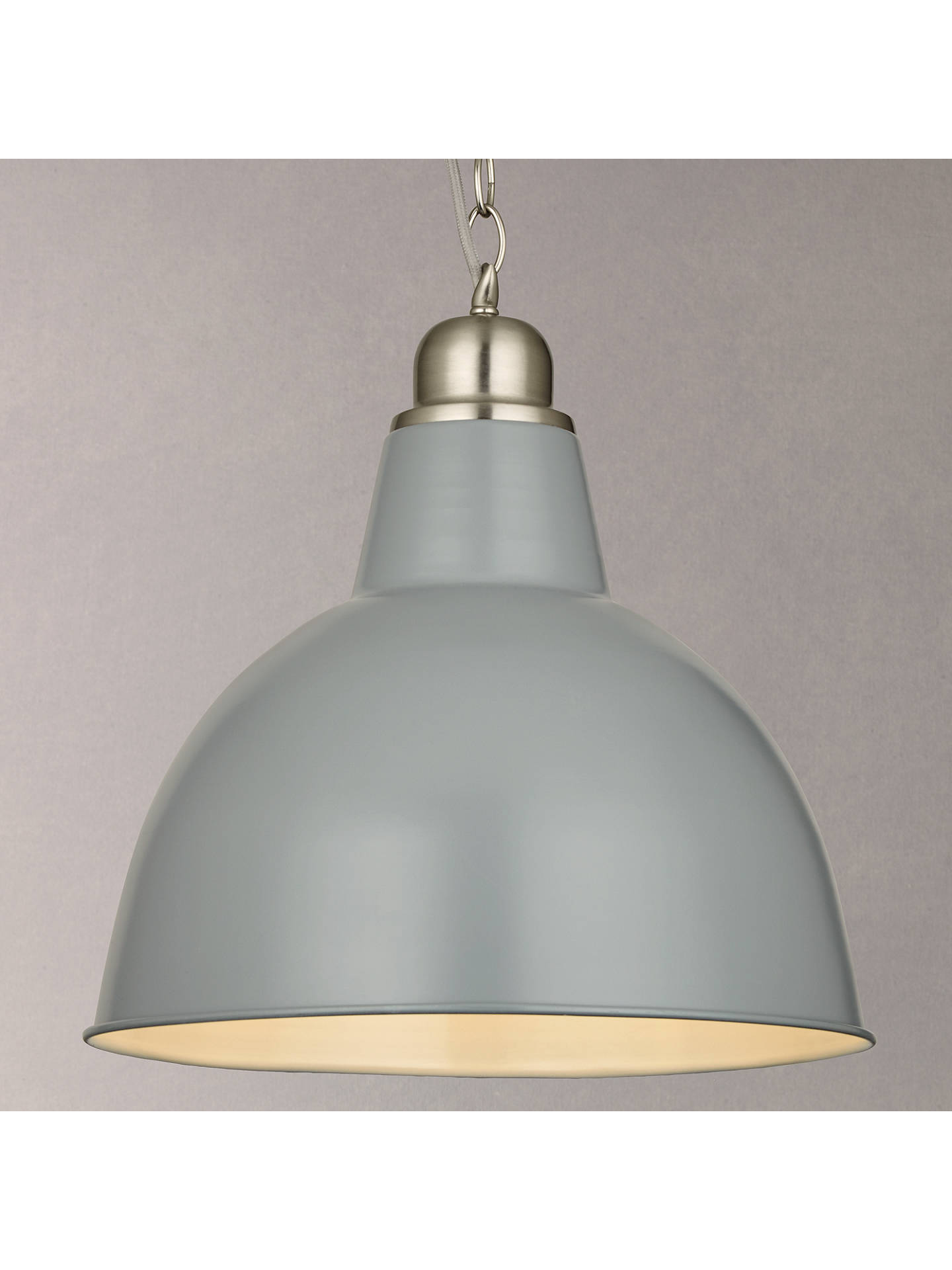 Croft Collection Aiden Factory Ceiling Light At John Lewis