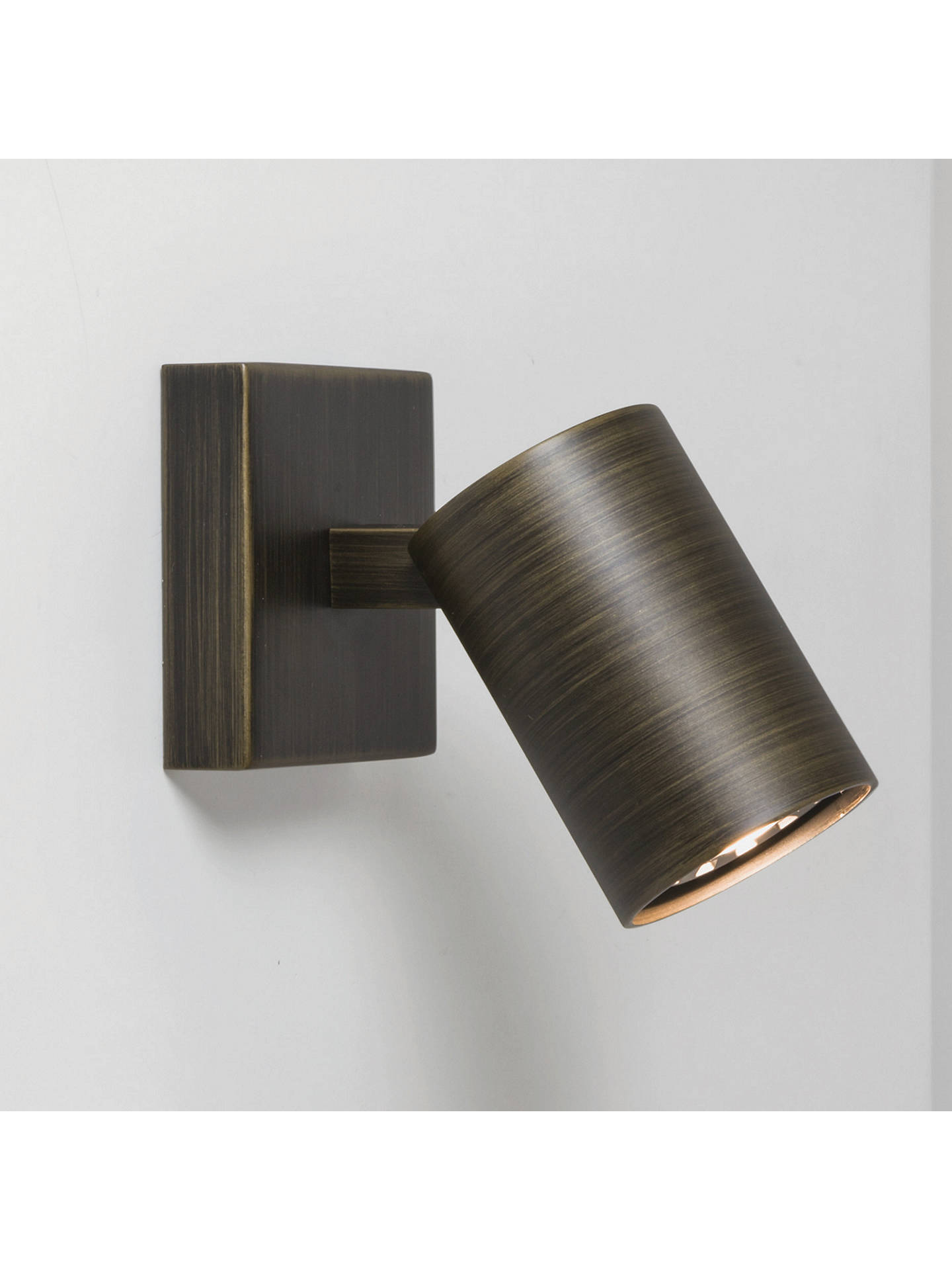 Buy Astro Ascoli Single Spotlight, Bronze Online at johnlewis.com