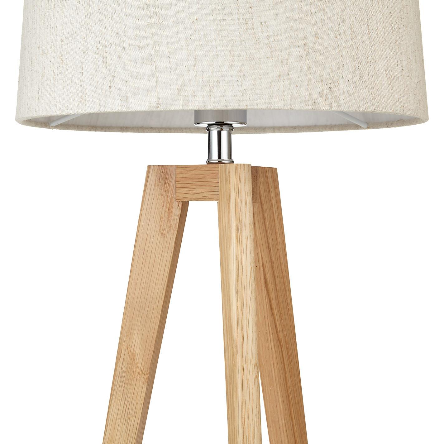 Buy john lewis brace table lamp oak john lewis buy john lewis brace table lamp oak online at johnlewis geotapseo Image collections