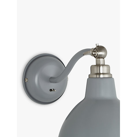 Bathroom Wall Lights John Lewis buy john lewis aiden wall light, grey | john lewis