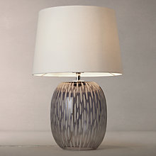 Buy John Lewis Agatha Ombre Carved Glass Table Lamp Online at johnlewis.com