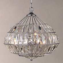 Buy John Lewis Arabella Teardrop Crystal Ceiling Light, Clear Online at johnlewis.com