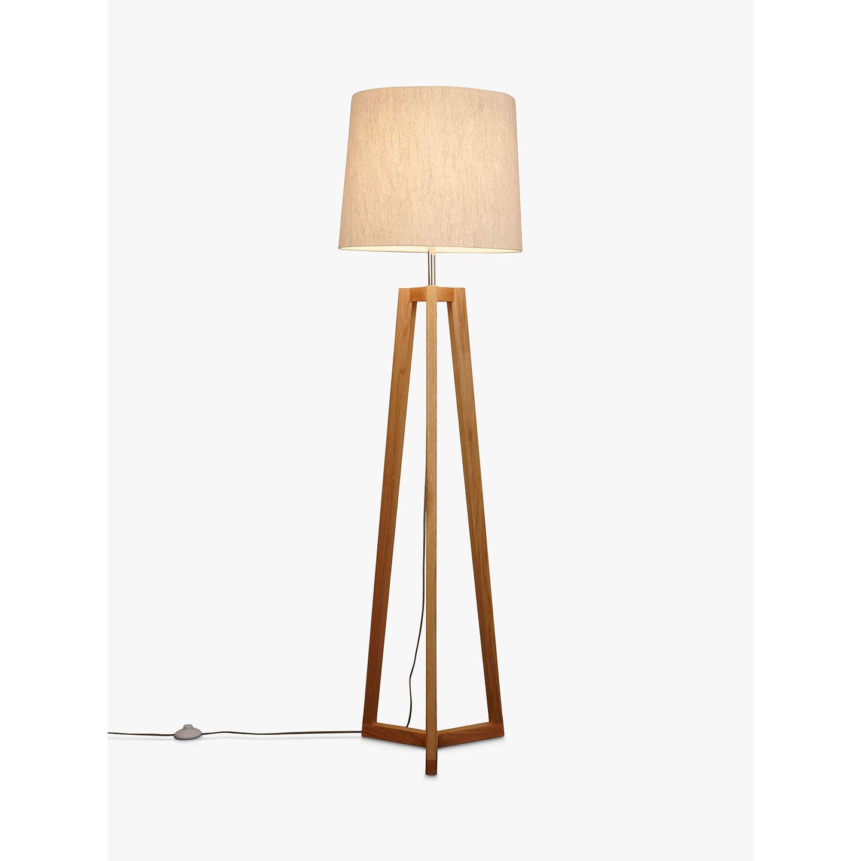 John Lewis Brace Floor Lamp Fsc Certified At John Lewis