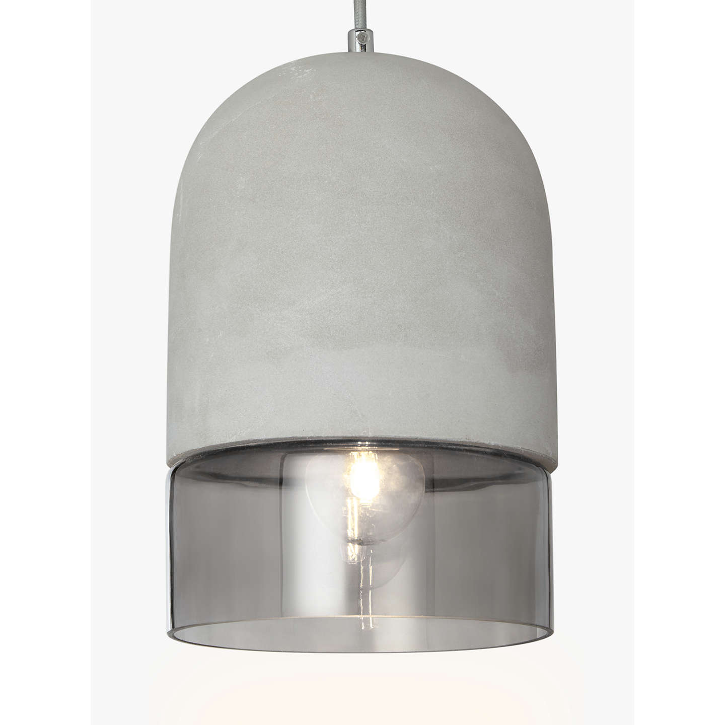 John lewis atlas ceiling light concretesmoke glass at john lewis buyjohn lewis atlas ceiling light concretesmoke glass online at johnlewis aloadofball Image collections