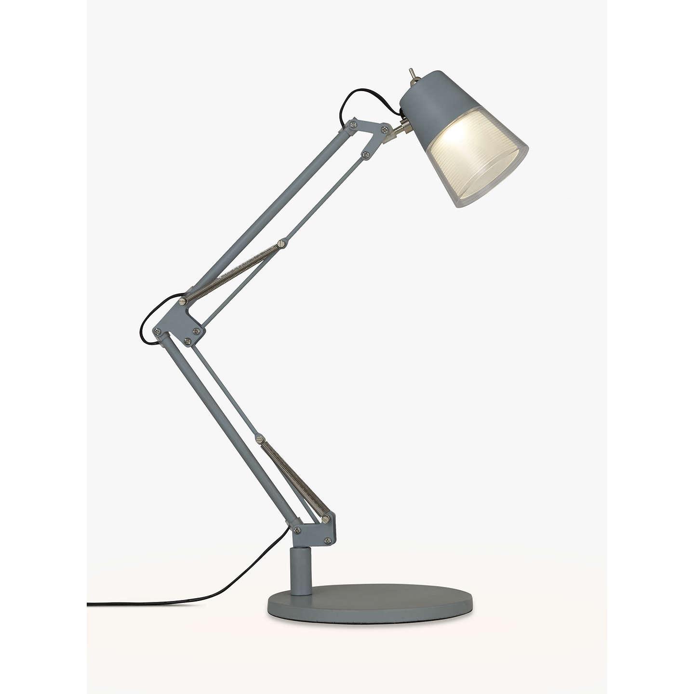 BuyJohn Lewis Cormack LED Architect Desk Lamp, Blue Grey Online At  Johnlewis.com ...