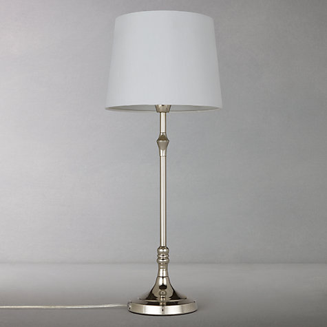 Buy John Lewis Cleo Turned Candlestick Table Lamp Online at johnlewis.com