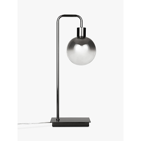 Buy John Lewis Dano LED Ombre Glass Table Lamp, Smoke Online at johnlewis.com